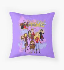 Once Upon An Adventure Time! Throw Pillow