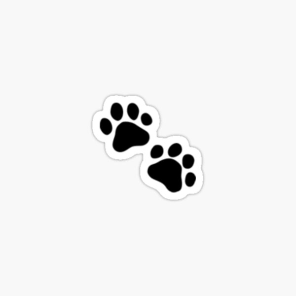 Paws Emoji Sticker