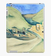 Italy landscape abstract painting iPad Case/Skin