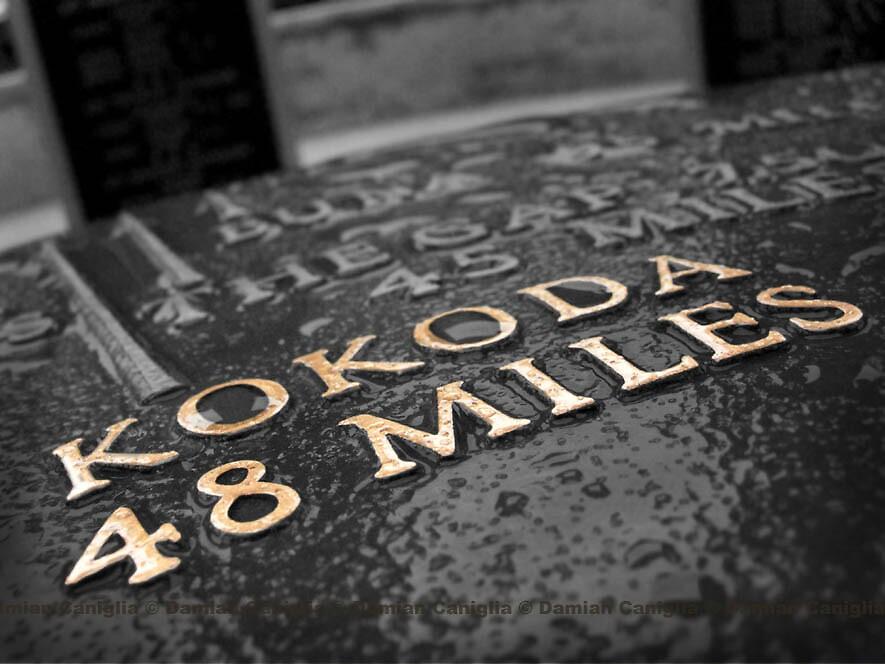 Kokoda Memorial - Lonely Planet Image May 2008 by damiancaniglia