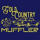 Gold Country Muffler by tanyarose