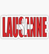 Lausanne Sticker