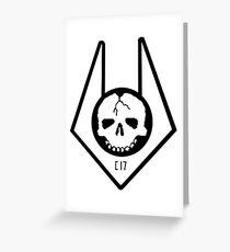 Half Life 2 - Combine Elite Insignia Greeting Card