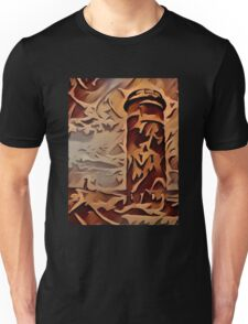 Rehoboth Beach Delaware Fire Towers Wood Relief Unisex T-Shirt