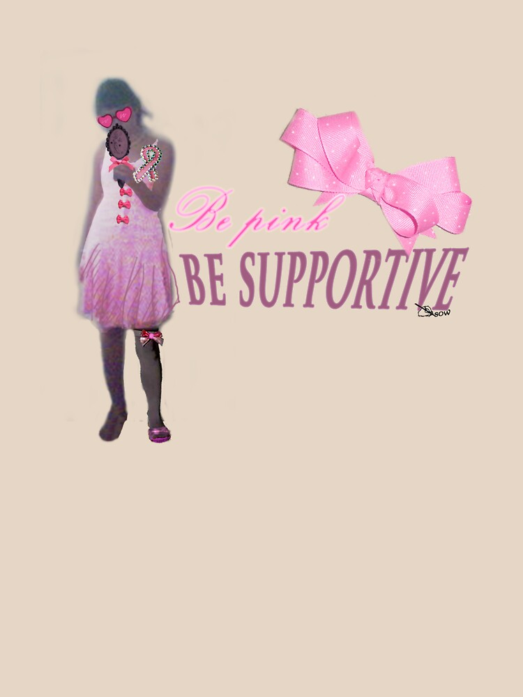 Be Pink Be supportive by dreamsower