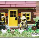 Poultry in motion by Bean Strangeways