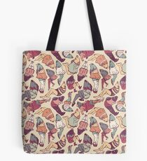 Peppy Springtime Legfish Pattern (Faded) Tote Bag
