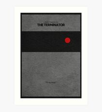 The Terminator Art Print