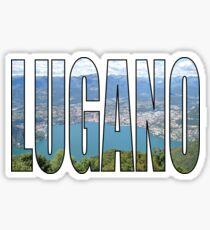 Lugano Sticker