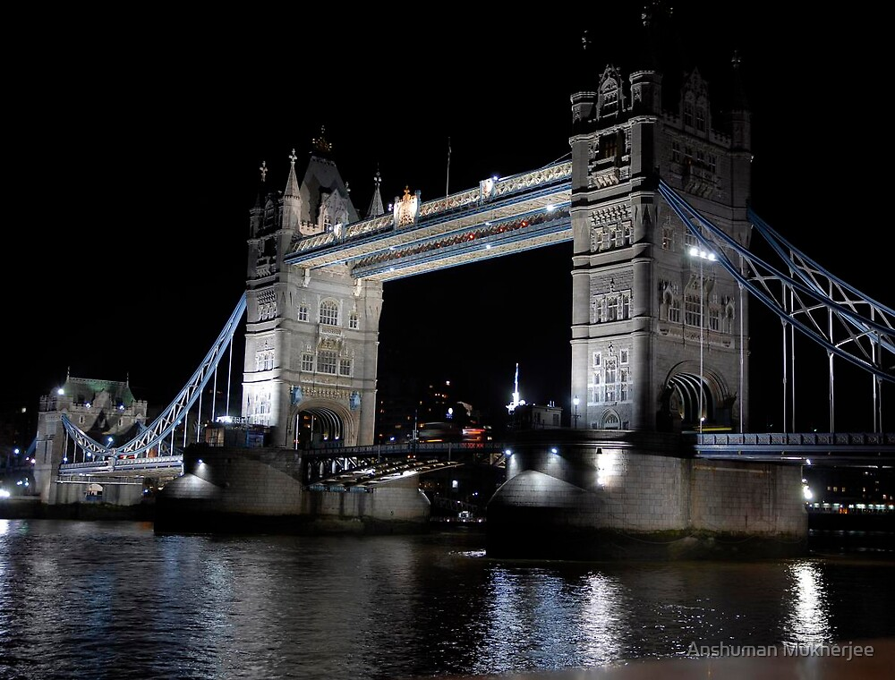 London Bridge by Anshuman Mukherjee
