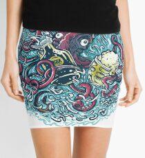 Sea Monster Mini Skirt