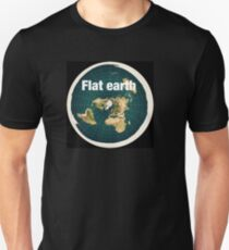The earth is flat,reality, T-Shirt