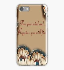 Stay true to yourself iPhone Case/Skin