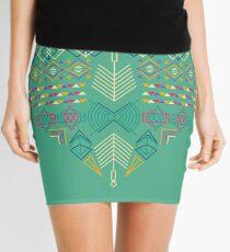 Aztec Heart Mini Skirt