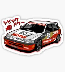 Civic EF3 - JTCC MOTUL livery - Sticker Sticker