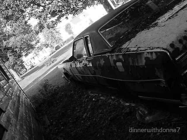 Old car by dinnerwithdonna7