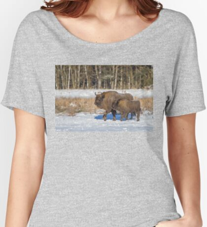 Bison Bonasus Women's Relaxed Fit T-Shirt