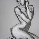 Posture 1 - Female Nude by CarmenT