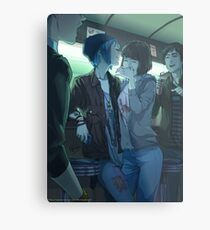 Party at the Diner Metal Print