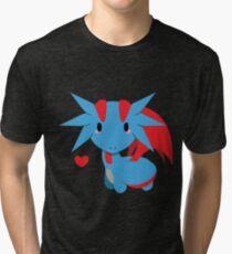 Chibi Salamance Tri-blend T-Shirt