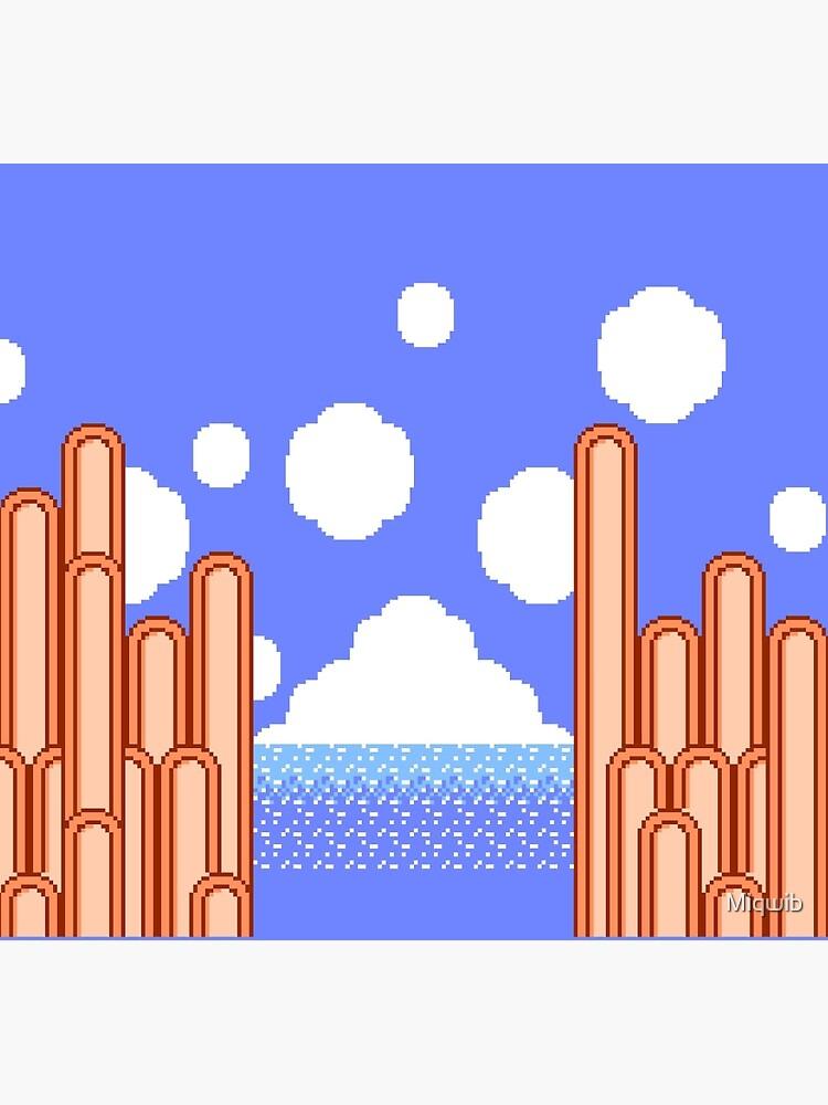 Kirbys Abenteuer - Ice Cream Island Horizon von Miqwib