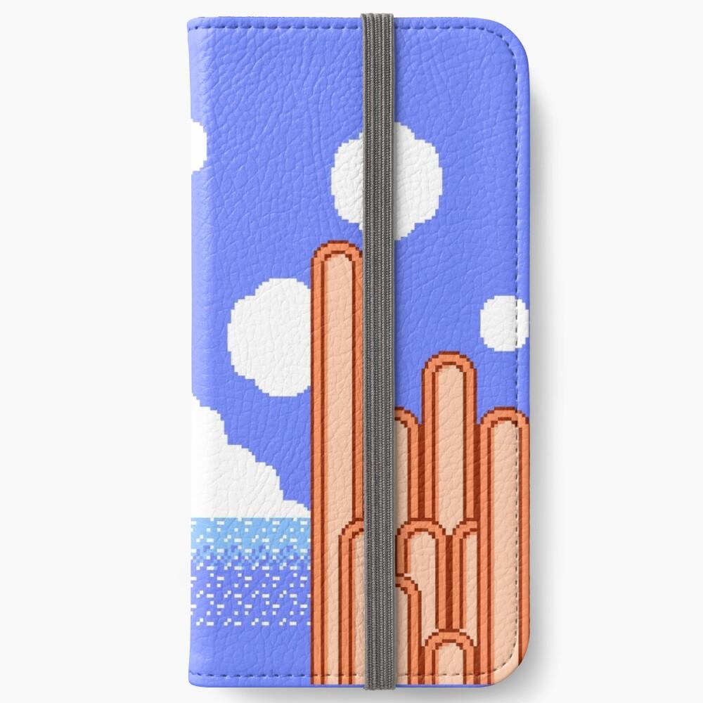 Kirbys Abenteuer - Ice Cream Island Horizon iPhone Flip-Case