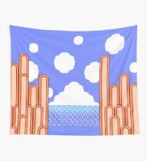 Kirby's Adventure - Ice Cream Island Horizon Wall Tapestry
