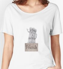 Friends stick together Women's Relaxed Fit T-Shirt