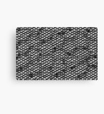 Reptile scales Canvas Print