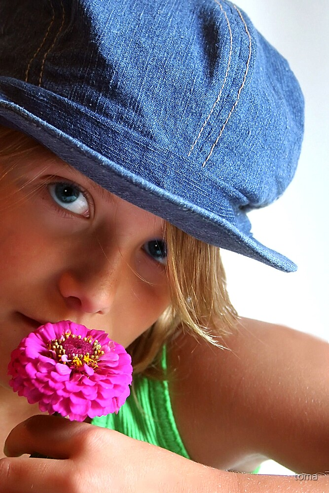 smell the flowers by toma