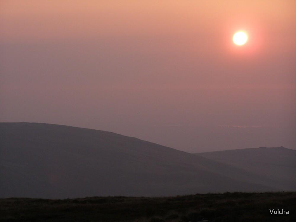 Dartmoor at dusk by Vulcha