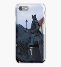 Casimir III the Great King of Poland sculpture in Bydgoszcz iPhone Case/Skin