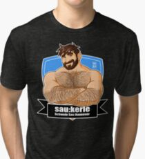 ADAM LIKES SAU:KERLE Tri-blend T-Shirt