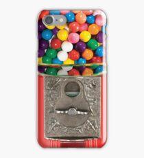RETRO BUBBLE GUM MACHINE iPhone Case/Skin