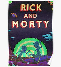 Rick and Morty Script Poster