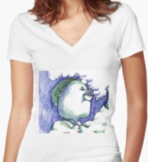 Trippin Women's Fitted V-Neck T-Shirt