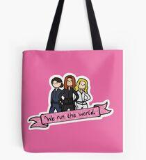 We Run the World Tote Bag