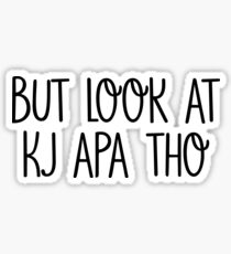 But look at KJ Apa tho Sticker
