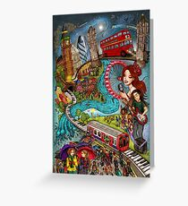 Sounds of London Greeting Card