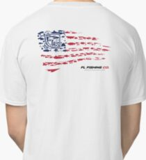 American Flag RED  Classic T-Shirt