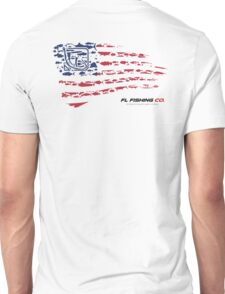 American Flag RED  Unisex T-Shirt