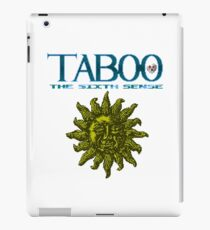 Taboo: The Sixth Sense - NES Title Screen iPad Case/Skin