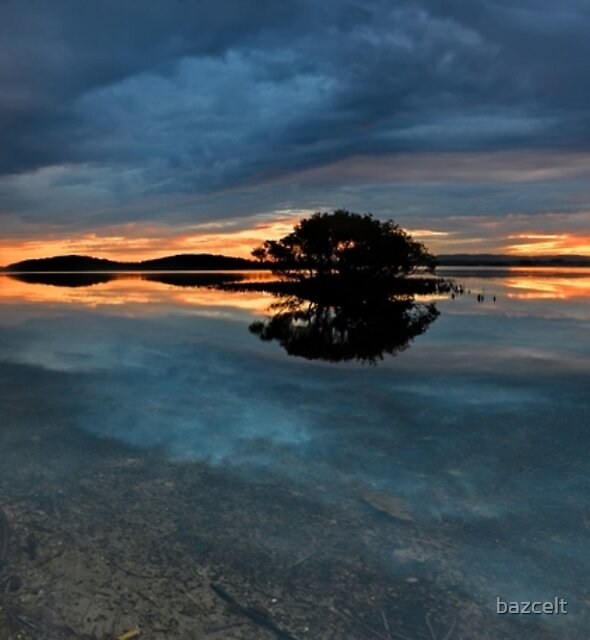 Lake Maquarie Sunset Panorama by bazcelt