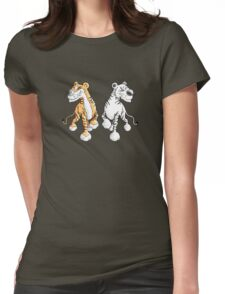 Two Tigers Womens Fitted T-Shirt