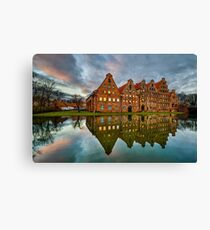 Old town of Lubeck Canvas Print