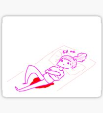 On Your Period Sticker