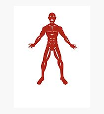 The Flayed Man Photographic Print
