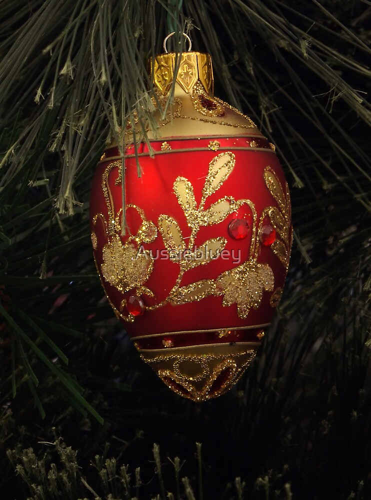 Christmas Decoration. by Aussiebluey
