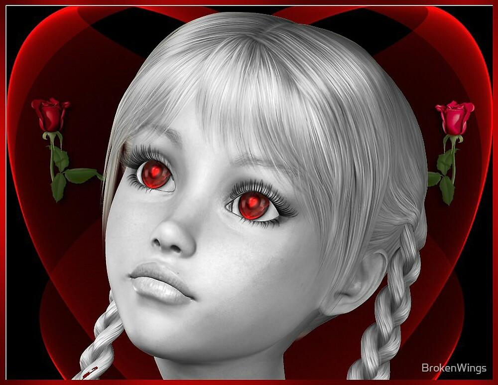 Eyes To Her Heart by BrokenWings