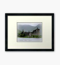 Kilchurn Castle-Schottland Gerahmtes Wandbild